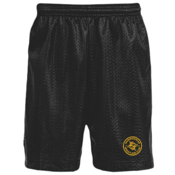 Youth Mesh Shorts - Black Thumbnail