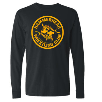 Adult 100% Cotton Long Sleeve with Yellow Printing Thumbnail